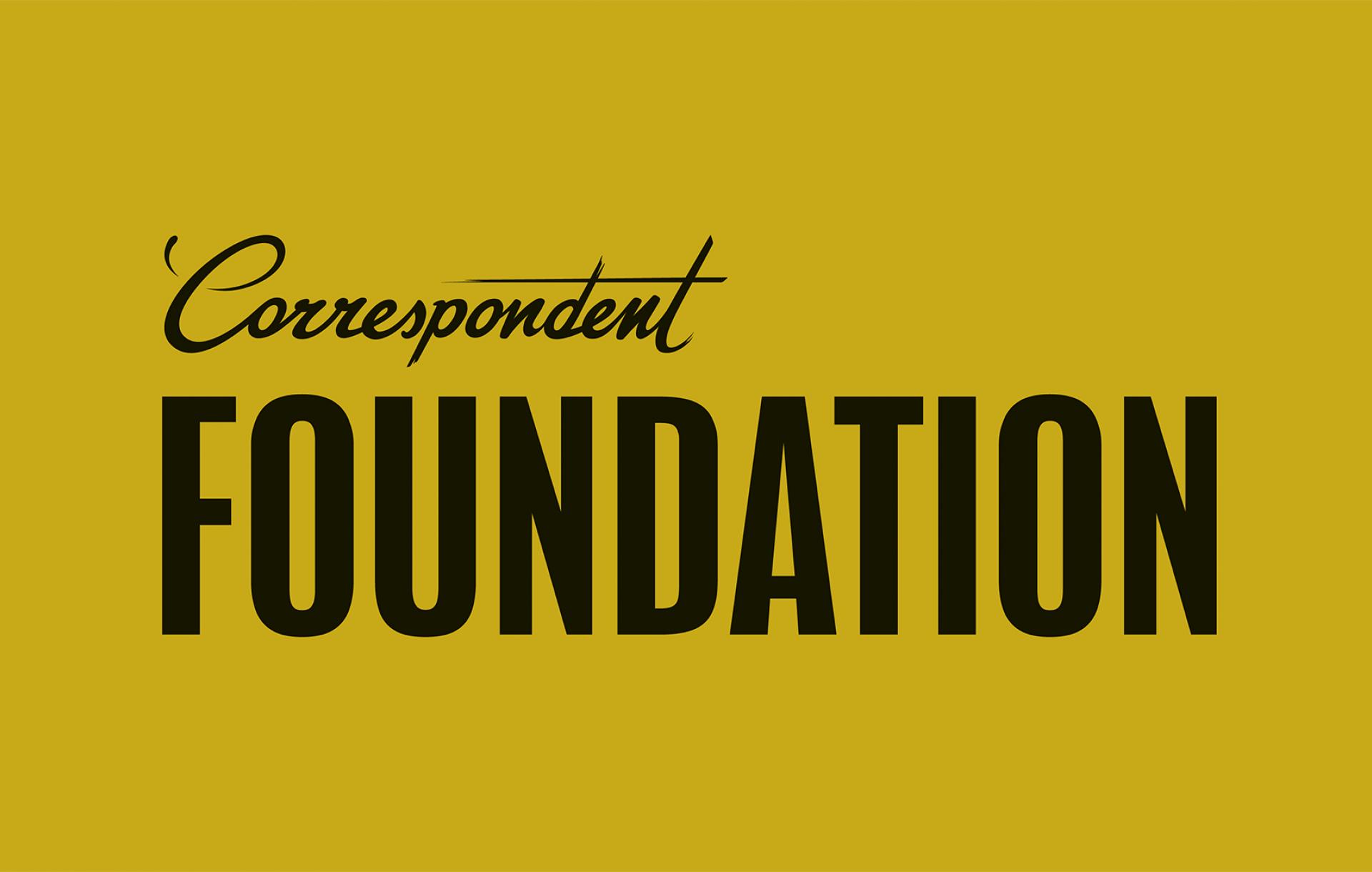 De Correspondent Foundation